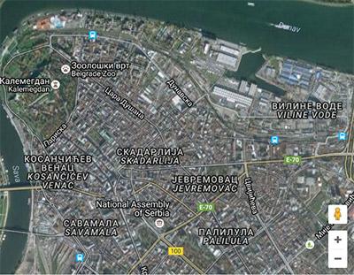 mapa beograda opstina vozdovac Selidbe Stari Grad mapa beograda opstina vozdovac