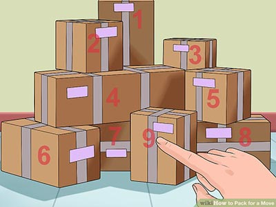 Obeležavanje kartonskih kutija